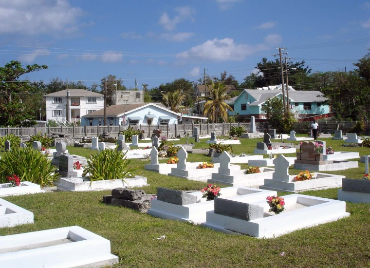 Green Turtle Cay Cemetery - Green Turtle Cay, Bahamas
