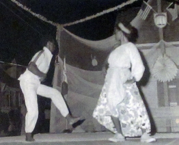 Comical Bahamian folk dance