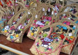 bahamas, abaco, green turtle cay, island roots heritage festival, straw work