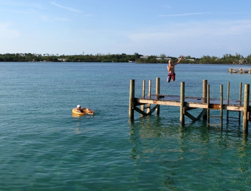 bahamas, abaco, green turtle cay, diving, swimming