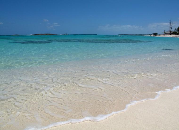 bahamas, abaco, green turtle cay, bita bay, beach