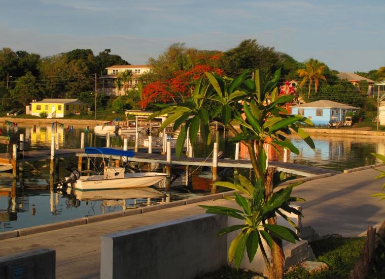 bahamas, green turtle cay, abaco, sunset