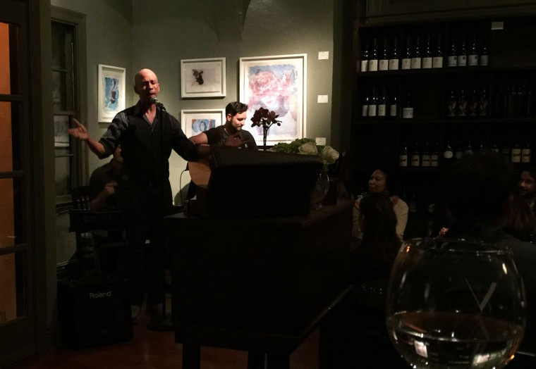 Ronnie Butler Jr., West Hollywood, V Wine Room