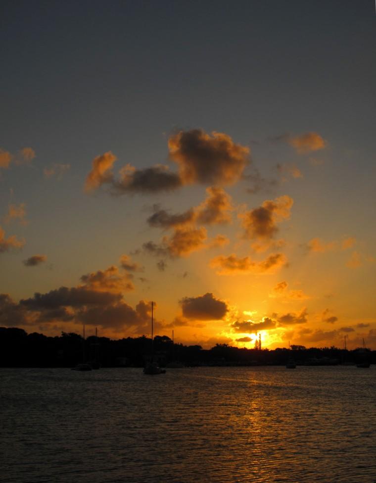 Sunset at GTC 2