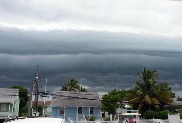 bahamas, abaco, green turtle cay, tropical storm, erika