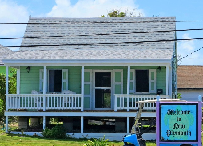 bahamas, abaco, green turtle cay, fish hooks cottage, restoration