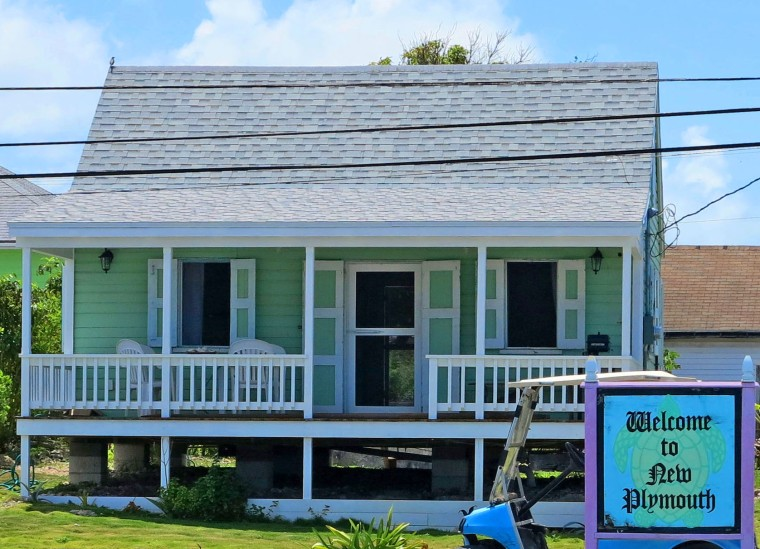 bahamas, abaco, green turtle cay, fish hooks cottage, restoration