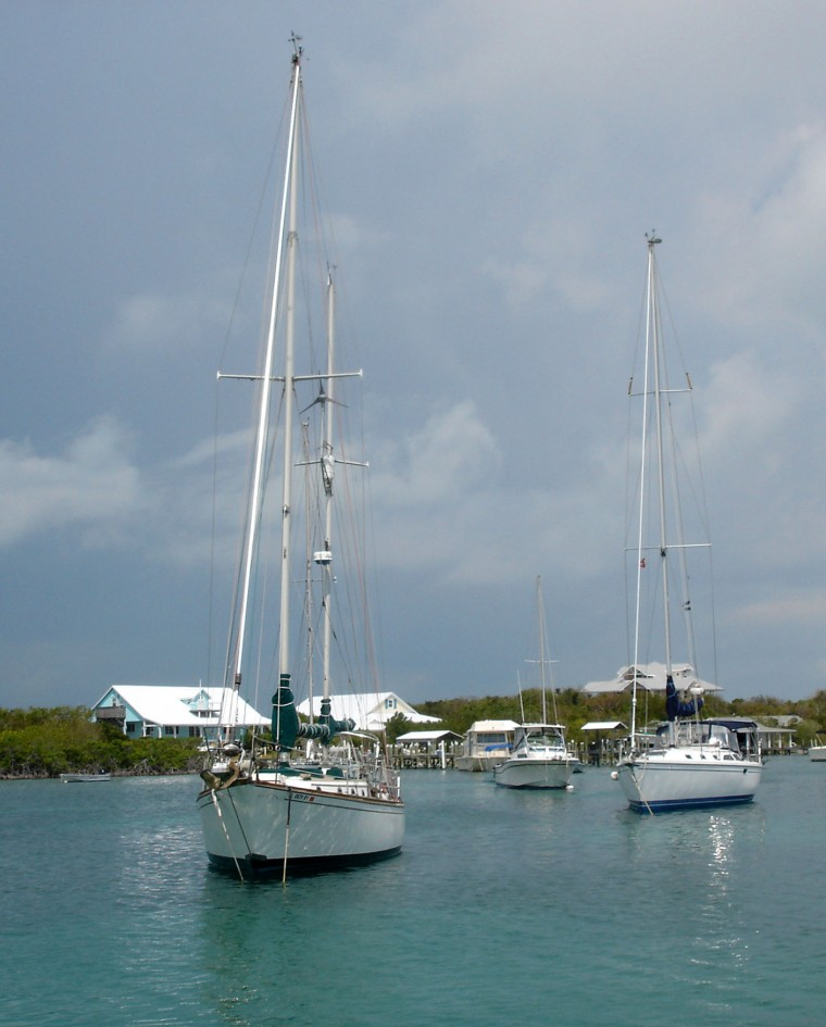 Man-O-War Harbour -- Abaco, Bahamas