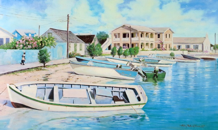 Alton Lowe art prints are available at the Albert Lowe Museum on Green Turtle Cay.