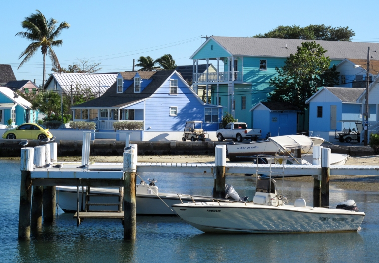 Settlement of New Plymouth -- Green Turtle Cay, Abaco, Bahamas