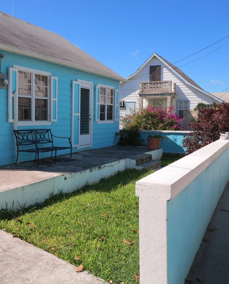 Colourful island homes - Green Turtle Cay, Abaco, Bahamas. www.LittleHousebytheFerry.com