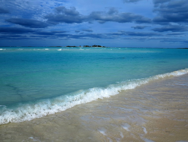 Gillam Bay, Green Turtle Cay, Bahamas.