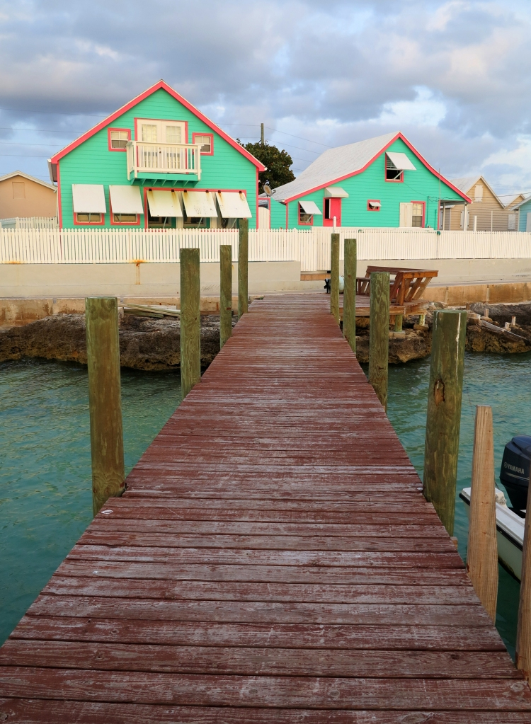 Colourful houses - Green Turtle Cay, Abaco, Bahamas