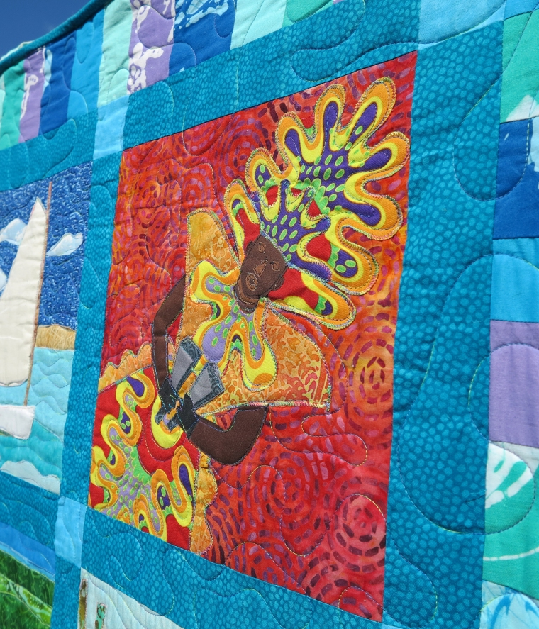 Heritage Quilt to be Sold to Benefit Green Turtle Cay's Albert Lowe Museum