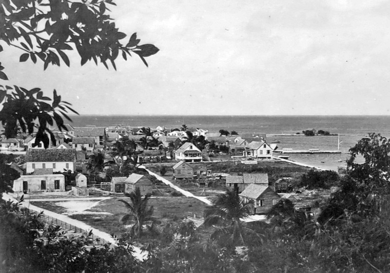 Historic Photo of Green Turtle Cay, Bahamas
