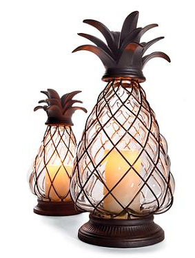 Front Gate Pineapple Lanterns