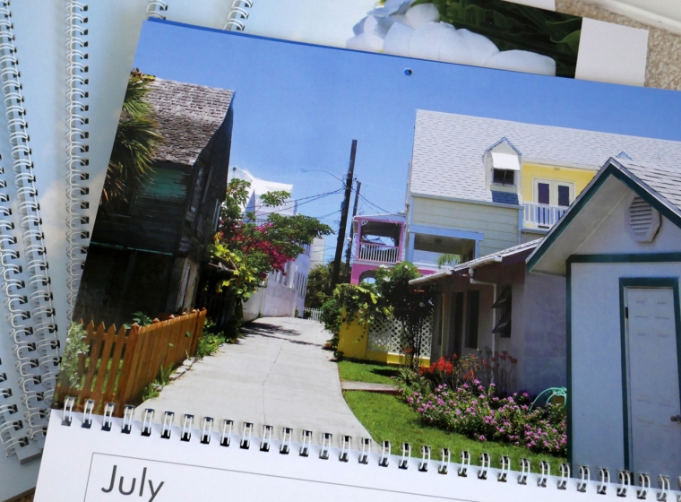 Introducing the Little House by the Ferry 2017 Green Turtle Cay Calendar