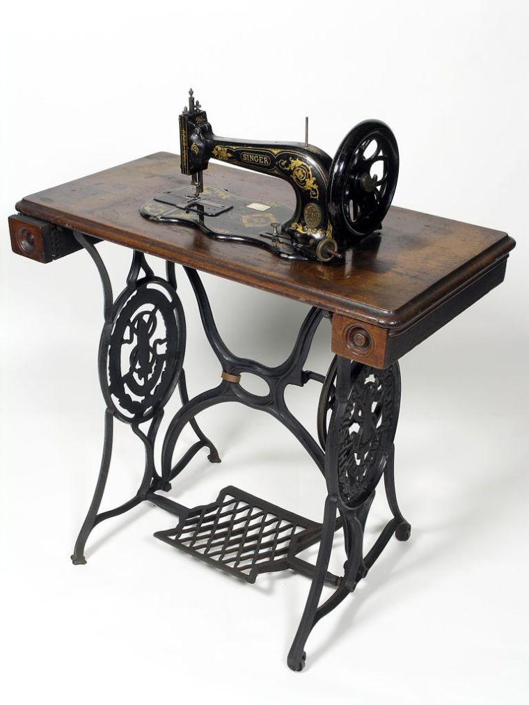 Repurposing Antique Sewing Machine