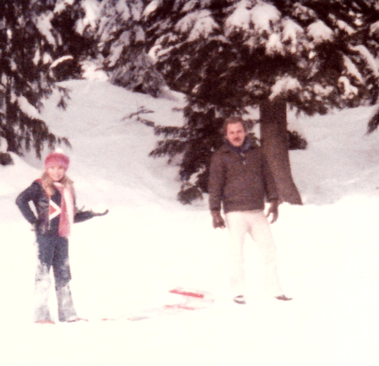 Dad and me, Mt. Seymour