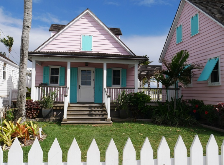 Pink House - Hope Town, Abaco, Bahamas