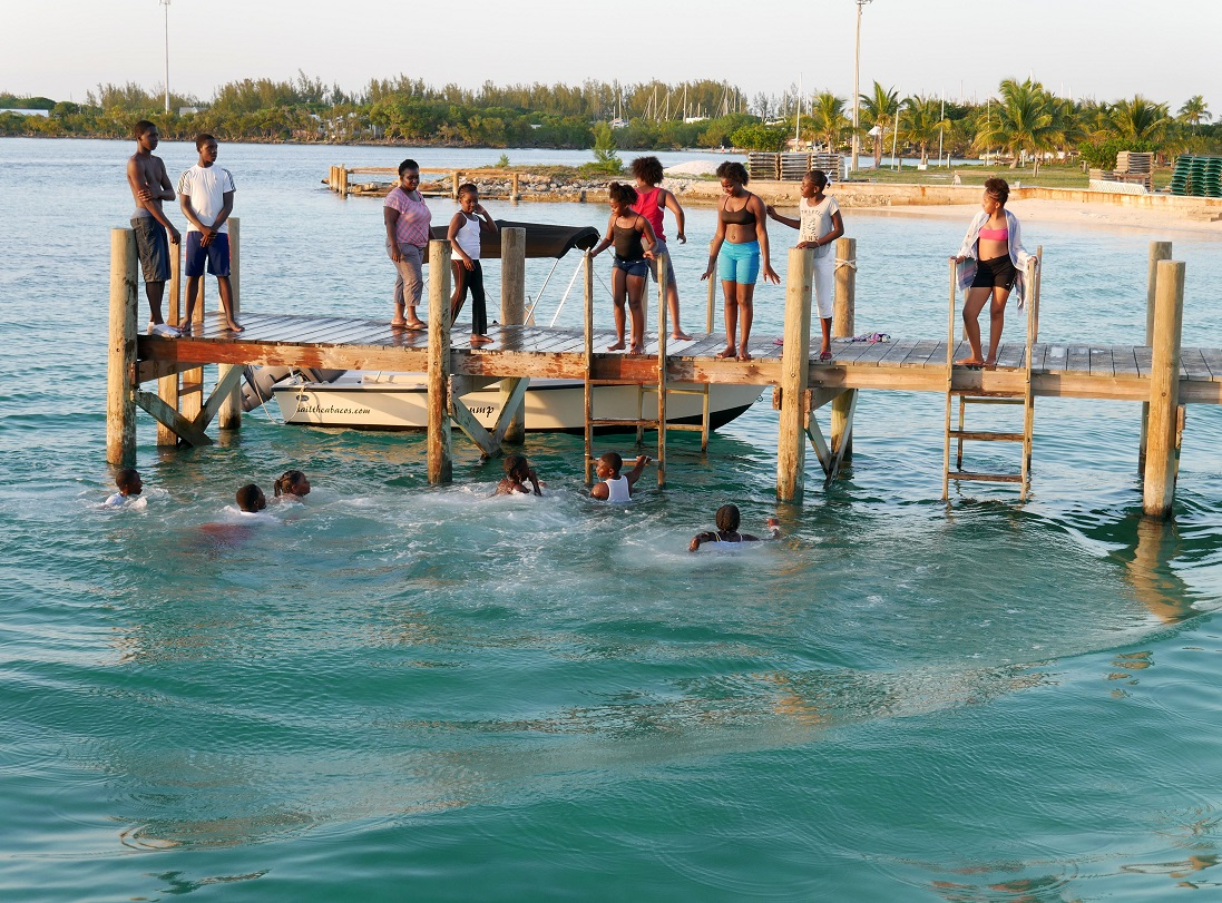 www.LittleHousebytheFerry.com - Daily Photo - Summer fun in Green Turtle Cay, Abaco, Bahamas.