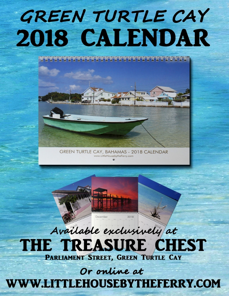 The 2018 Green Turtle Cay Wall Calendar is now available!