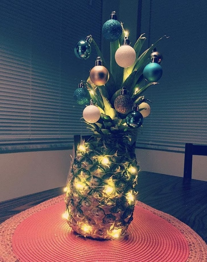 Pineapples as Christmas Trees?