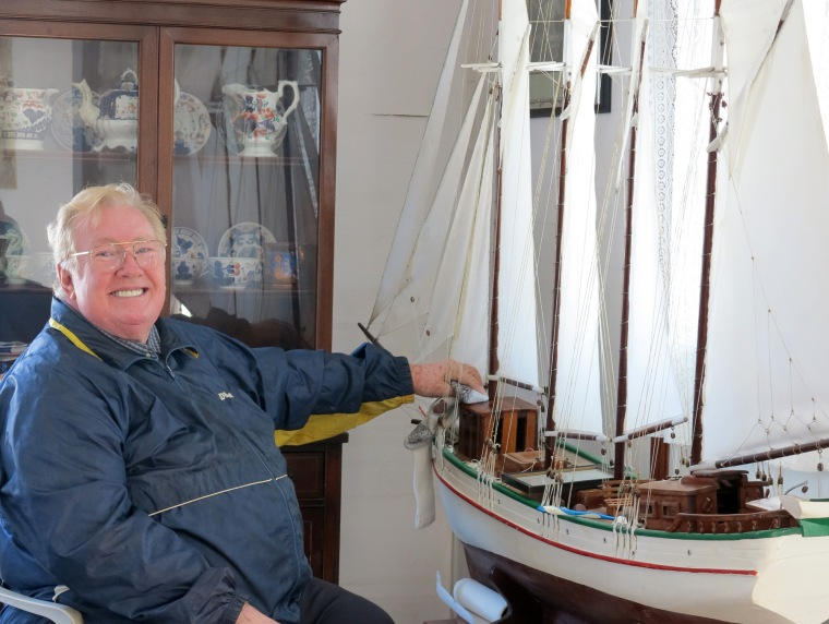 The model ships of Green Turtle Cay's Albert Lowe