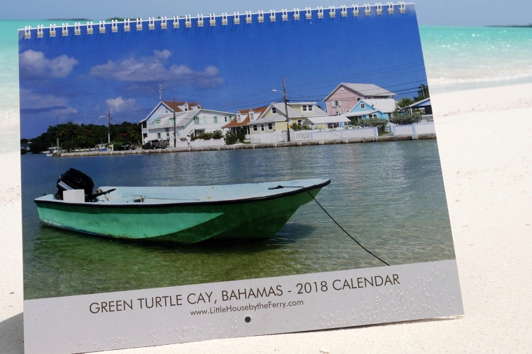 A great deal on 2018 Green Turtle Cay Wall Calendars