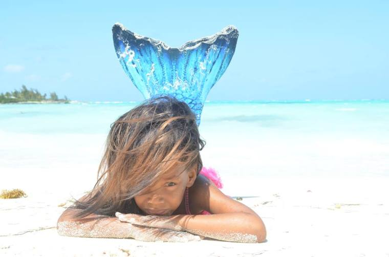Mermaid - Photo by Ash Gardiner, Green Turtle Cay