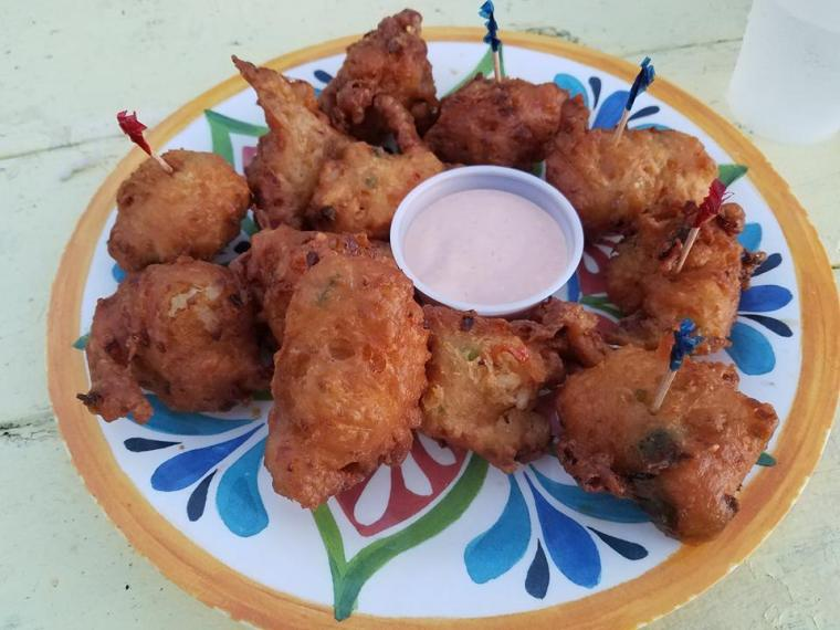 Conch Fritters - Photo by Cynthia Lull