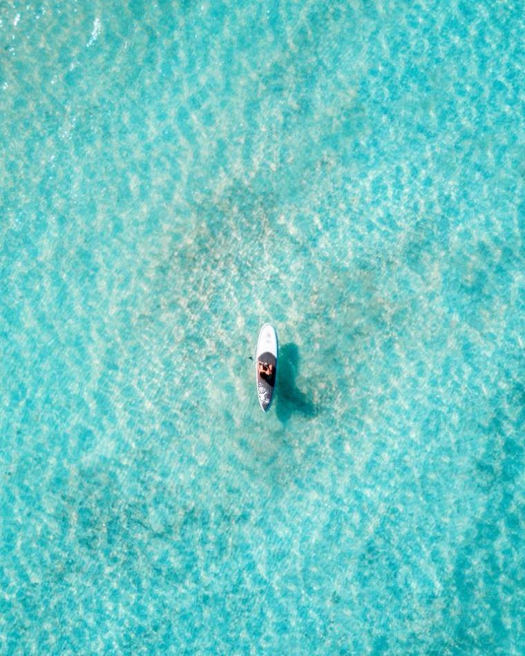Paddleboarder by Dillon Roberts