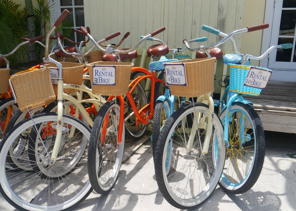 Rental Bikes - Green Turtle Cay, Abaco, Bahamas
