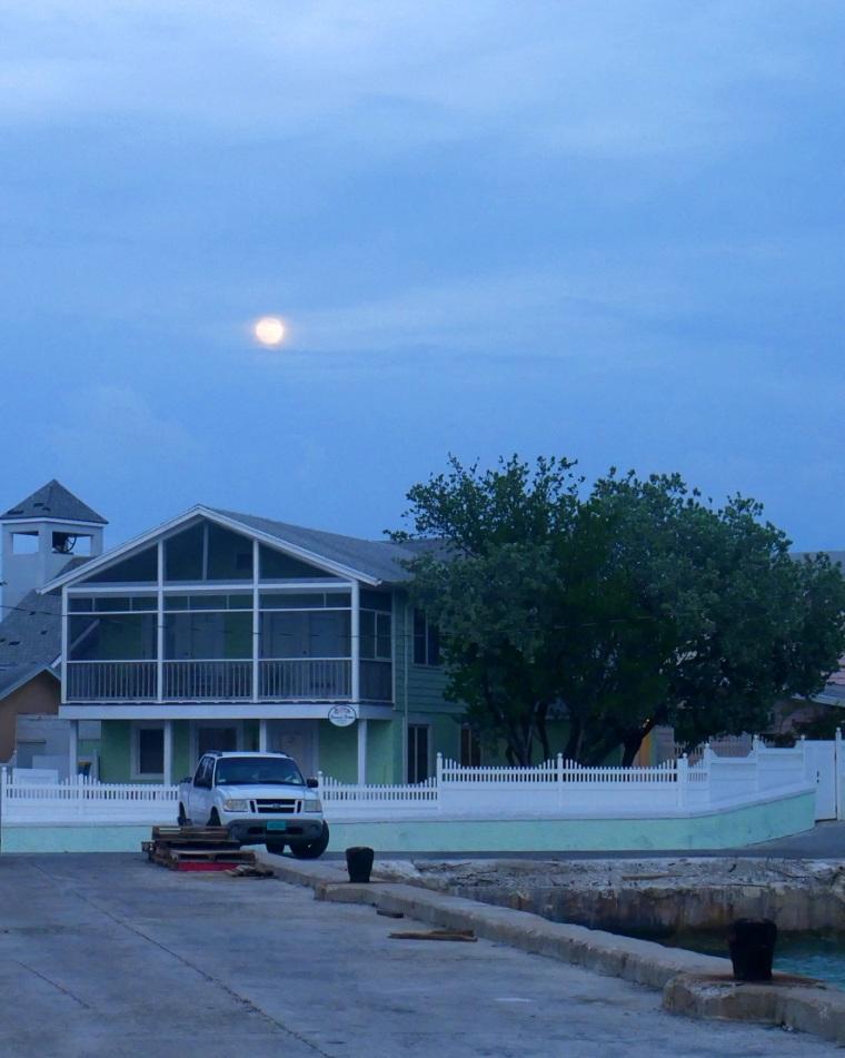 Full Moon - Green Turtle Cay, Abaco, Bahamas