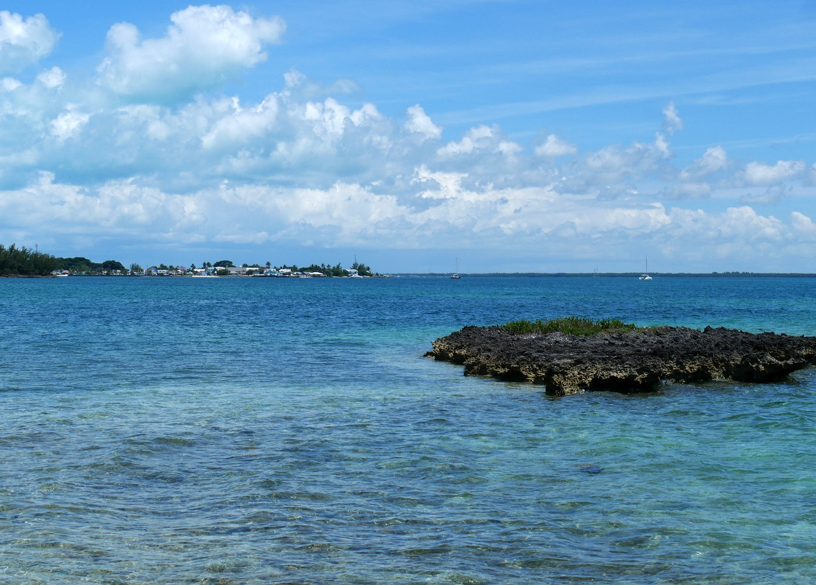 View of New Plymouth from Bluff House - Green Turtle Cay, Abaco, Bahamas