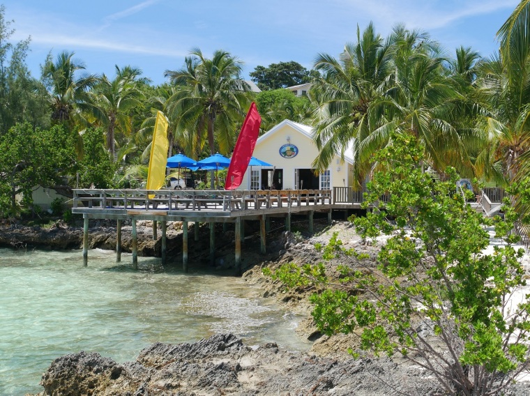 Tranquil Turtle - Bluff House Beach Resort, Abaco, Bahamas