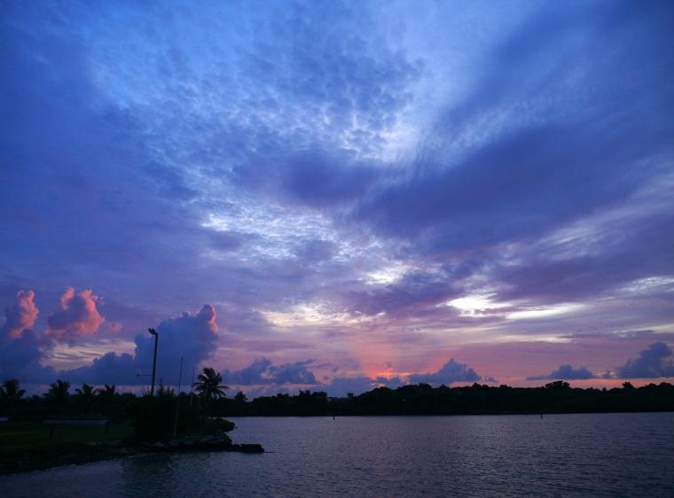Sunrise Over Settlement Creek - Green Turtle Cay, Abaco, Bahamas