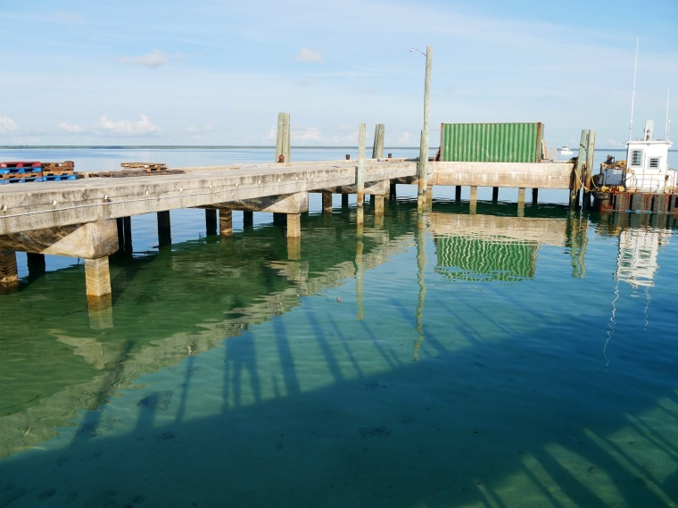 Freight Dock - Green Turtle Cay, Abaco, Bahamas
