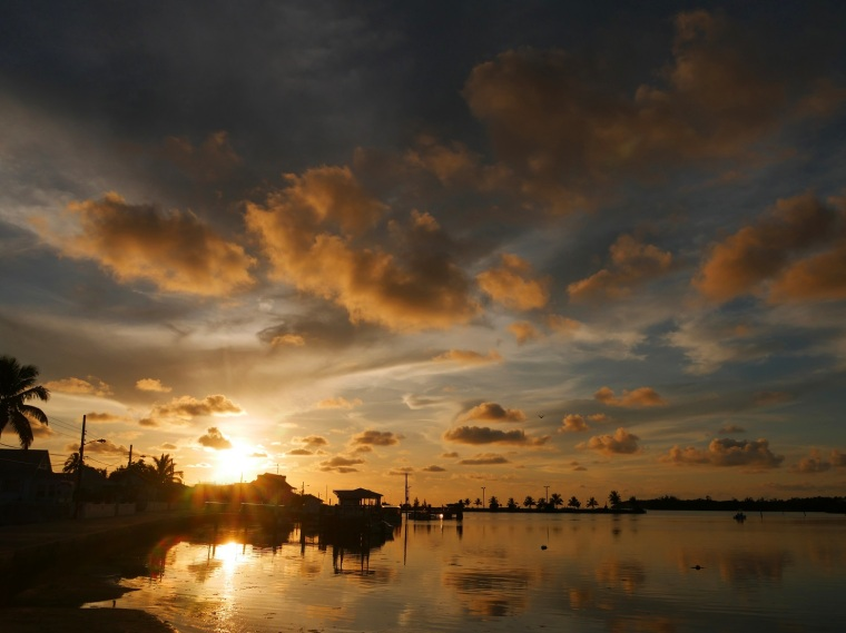 Sunrise Over Settlement Creek - Green Turtle Cay, Abaco, Bahamas