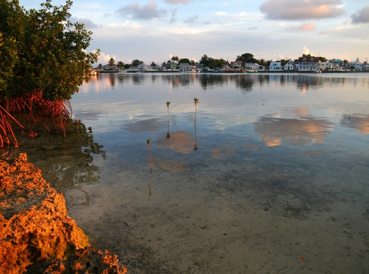New Plymouth at Sunset - Green Turtle Cay, Abaco, Bahamas