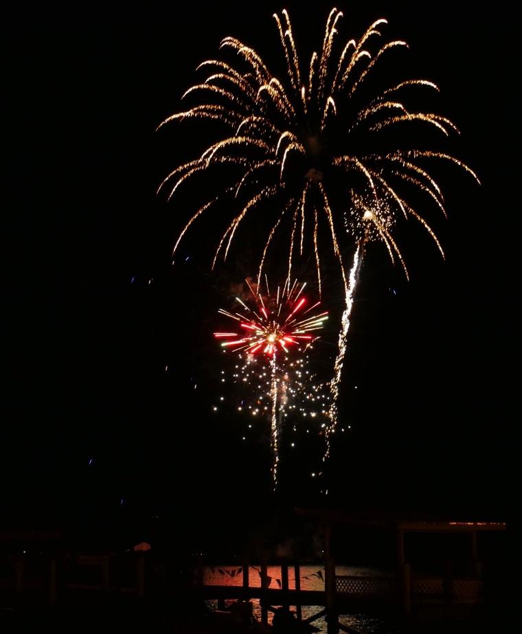 Fireworks - Green Turtle Cay, Abaco, Bahamas