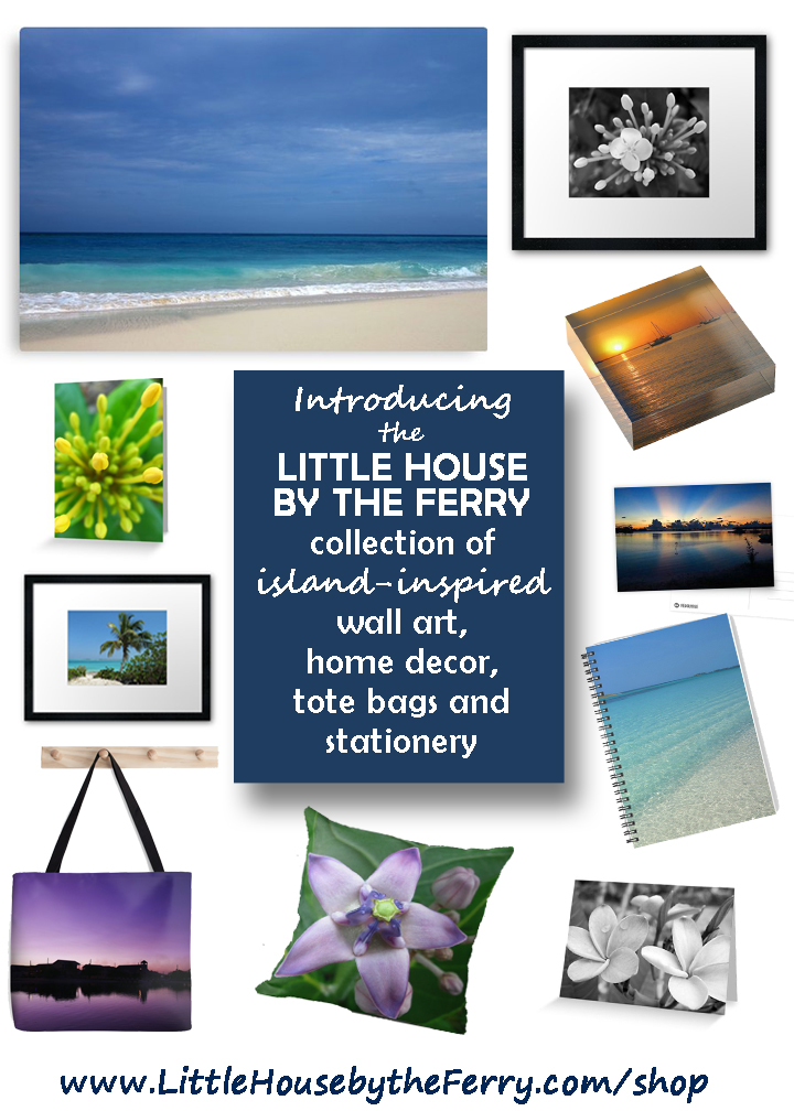 Introducing the Little House by the Ferry Collection of Island-Inspired Home Décor, Stationery and Wall Art