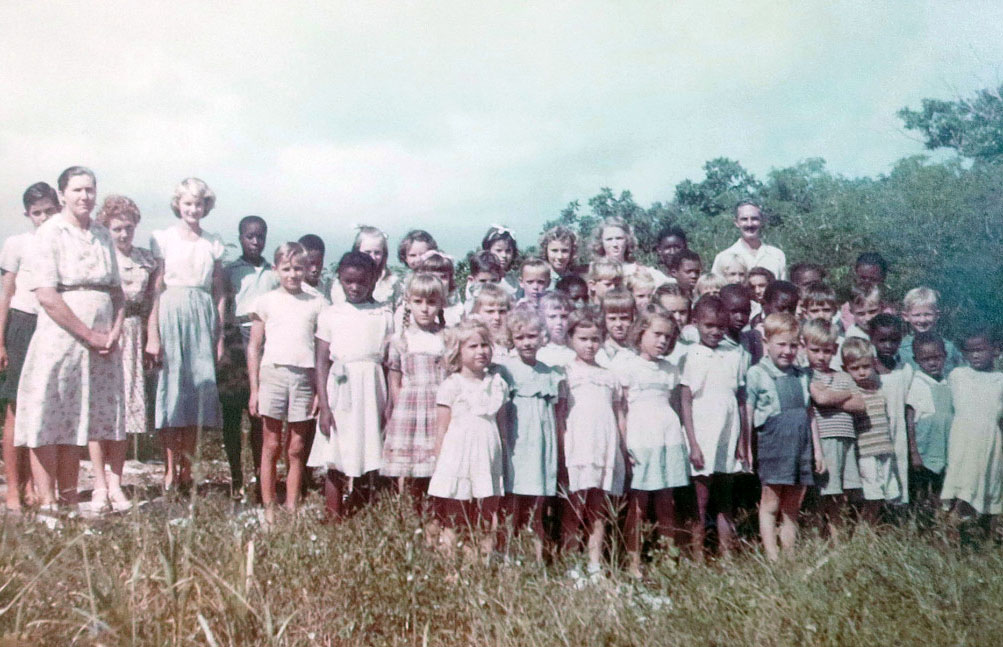 Amy Roberts All Ages School circa 1950