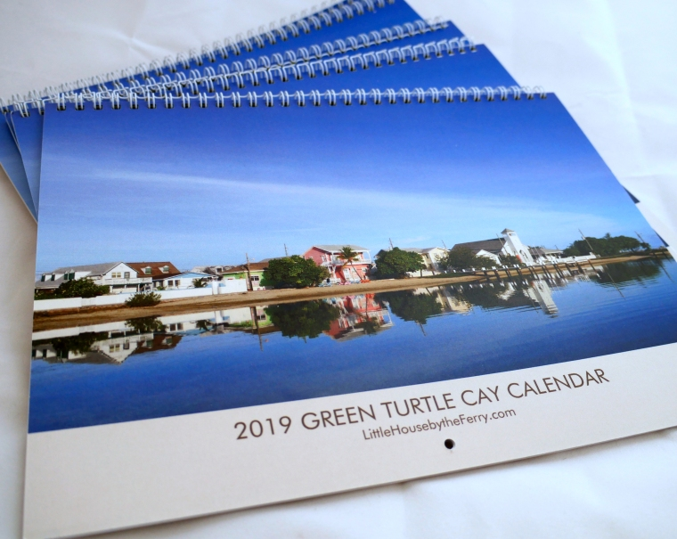Green Turtle Cay Wall Calendar 2019