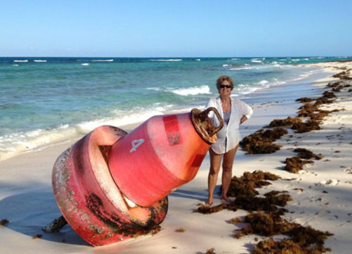 Nicole Fleming with Buoy - Coco Bay Cottages