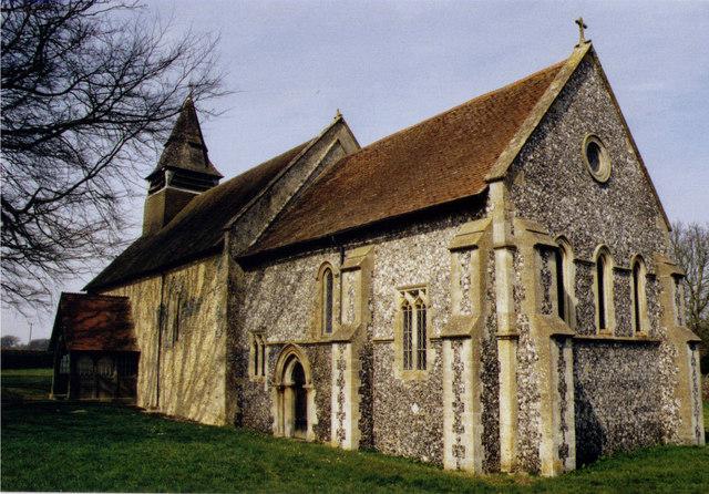 The Church of St. Nicholas, Beedon, Newbury, England